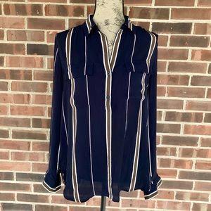 Ann Taylor pullover blouse
